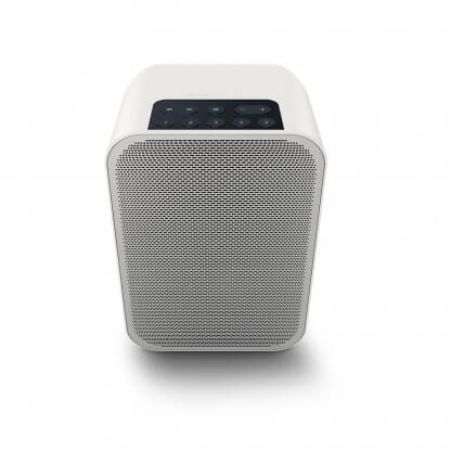 Enceinte connectée Bluesound PULSE FLEX2i wifi bluetooth tidal qobuz deezer spotify flac alac mp3 option batterie attache murale radio internet amazon alexa