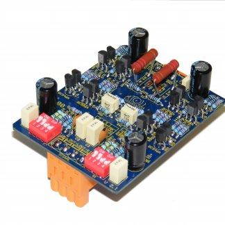 Carte Préampli Phono Atoll P100 option pour amplificateur preamplificateur configurable paramétrable gain capacité résistance impédance cellule MM MC