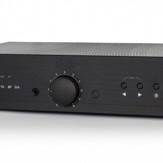 Amplificateur ATOLL IN100 Signature ampli stéréo intégré analogique option cate digitale 24/192 dsd finition aluminium brossé noir argent