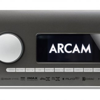 amplificateur receiver home cinema arcam dirac qobuz tidal uhd hdr dolby vision