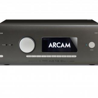 Processeur Home Cinema ARCAM AV40 streamer qobuz tidal spotify hdmi 2.0b 4k uhd xlr symetrique dolby atmos dts-x auro 3d dsp preampli home theatre dab+ fm