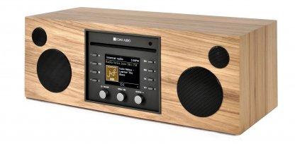 enceinte cd radio dab+ fm internet spotify usb como musica