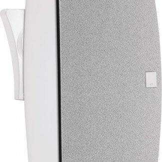Enceinte DALI FAZON SAT satellite aluminium moulé laque blanc noir orientable home cinema stereo home-theatre haute performance