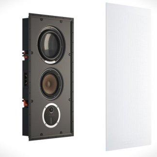 Enceinte encastrable DALI PHANTOM S280 baffle integrable au mur avec coffret haut de gamme anti vibration home cinema home-theatre grille alu