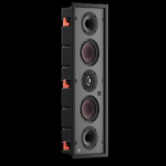Enceinte Encastrable DALI PHANTOM M250 baffle à intégrer dans mur home cinema stereo hp deux woofers fibre de bois faible profondeur 10cm
