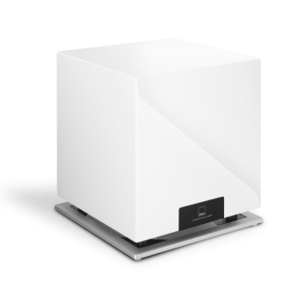 Subwoofer DALI SUB M10D 300 watt rms 500 watt caisson basse actif woofer 10 pouces laque telecommande filtre phase HP grand debattement membrane carbone