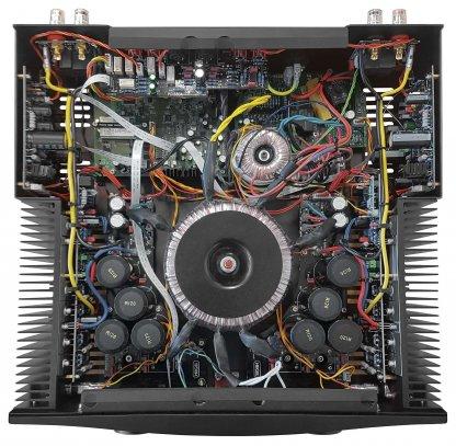 Ampli Stéréo HEGEL H390 amplificateur intégré dac convertisseur dac lecteur reseau dlna noir blanc design norvege entree configurable bypass