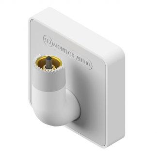 Bracket Monitor Audio VECTA V-MOUNT support enceintes étanches v240 reglage angle inclinaison horizontal vertical reglable noir blanc