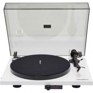 Platine PROJECT ESSENTIAL 3 HP III vinyle tourne disque 33T 45T ortofon OM10bras aluminium blaanc rouge noir laque walnut noyer mat preampli sortie casque
