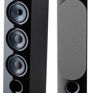 Enceintes FOCAL CHORA 826 paire baffle colonne noir trois voies deux woofer 250 watts stereo home cinema mebrane fibre carbone bass reflex frontal