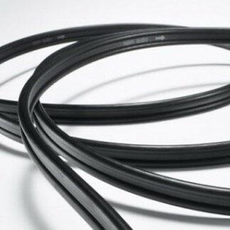 Cable HP NAIM NAC A5 2x4m multibrin audio 4mm2 noir blanc sans terminaison sans fiche cuivre ofc haute qualité
