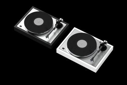 ProJect CLASSIC DC + Cellule Ortofon 2MBlue the classic dc limited edition tourne disque 33T 45T avec couvercle cellule MM 2M Blue bras alu carbone