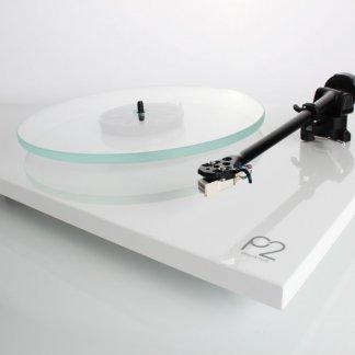 Platine Vinyle REGA PLANAR 2 tourne disque cover plexiglas cellule CARBON finition noir blanc laque 33T 45T courroie tonearm bras rega rb220 alu