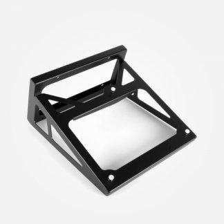 Support Mural REGA PLANAR 8 et 10 socle à acrocher au mur pour tourne disque armature squelette aluminium laque noir blanc wall bracket black white