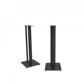 Pieds d'enceintes Q ACOUSTICS 3030FSi support baffle HP spécifique pour 3030i hauteur 63 cm noir blanc satin stereo home cinema