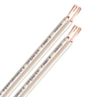 Câble HP QED ORIGINAL cablage pour enceinte cuivre pur OFC haute qualité économique hifi home cinema multiroom isolant gaine blanc