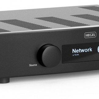 AMPLI STEREO HEGEL H95 amplificateur intégré dac spotify streaming upnp airplay entrée analogique asymétrique digitale numérique coaxiale optique rj45