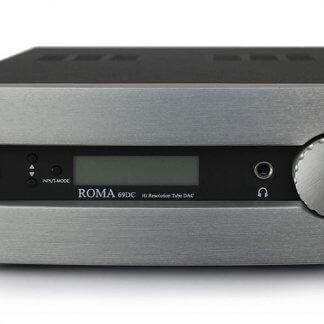 DAC SYNTHESIS ROMA 69DC convertisseur digital analogique 24 bits 192kHz 24/192 32/768 32 bits 768kHz étage sorties à tubes ECC88 6dj8