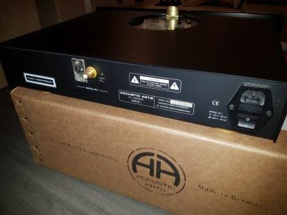 Transport CD ACCUSTIC ARTS DRIVE1 lecteur sans convertisseur dac noir palet presseur