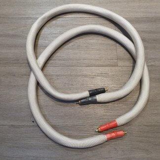 Câble LEGATO REFERENZA SUPERIORE occasion état impeccable premier propriétaire cable de modulation longueur 1m fiches cinch rca