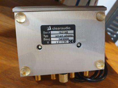 Préampli CLEARAUDIO SMART PHONO pour cellule MM moving magnet occasion seconde main